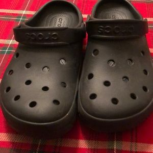 Navy Blue Crocs